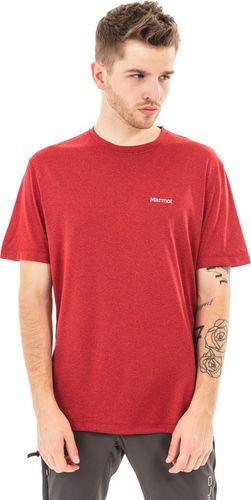 Marmot Koszulka męska Conveyor Tee Marmot True Team Red Heather czerwona r. XXL (518208568)