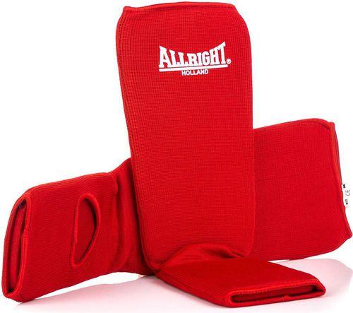 Allright Ochraniacz nagolennik ze stopą 9905 Allright Holland czerwony roz. XL