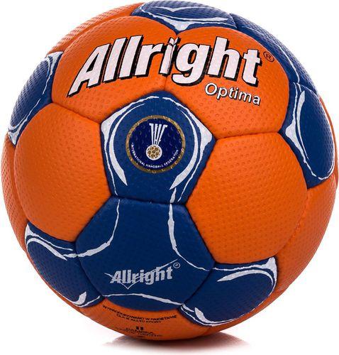Allright Piłka ręczna Optima Women 2 Allright niebiesko-pomarańczowy roz. uniw