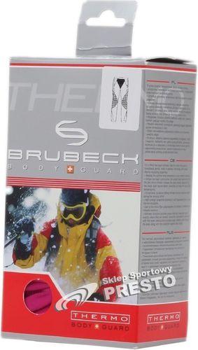 Brubeck Spodnie termoaktywne męskie Vinn Thermo LE00770 biały roz. XXL