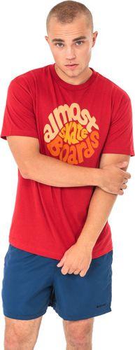 Almost Koszulka męska Stink Hole Czerwona r. S