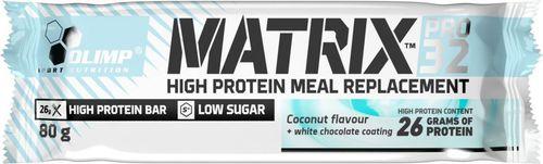 OLIMP Baton wysokobiałkowy Hi Protein Matrix Pro 32 kokos Olimp kokosowy roz. uniw