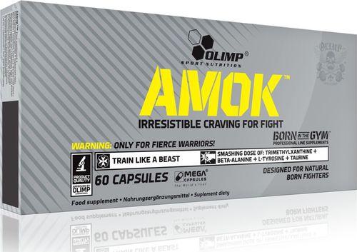 OLIMP Booster przedtreningowy Amok 60 Olimp  roz. uniw