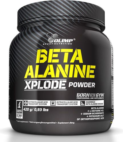 OLIMP Beta-Alanine Xplode Powder 420g pomarańcza Olimp  roz. uniw