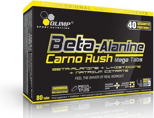 OLIMP Booster treningowy Beta-Alanine Carno Rush 80MegaTabs Olimp  roz. uniw (040719)