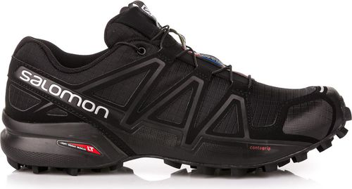 Salomon Buty męskie Speedcross 4 Black/Black/Black Metallic r. 46 (38313)