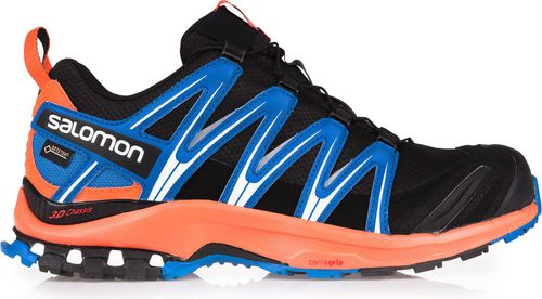 Salomon Buty męskie XA Pro 3D GTX Black/Flame/Nautical Blue r. 46 (393317)