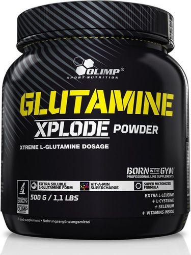 OLIMP Glutamine Xplode Powder 500g Olimp pomarańczowy roz. uniw
