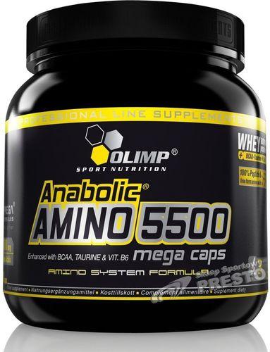 OLIMP Anabolic Amino 5500 400 Mega Caps Olimp  roz. uniw (024153)