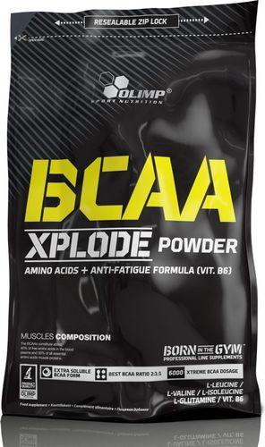 OLIMP Aminokwasy BCAA Xplode Powder 1000g cytryna Olimp cytrynowy roz. uniw (037757)