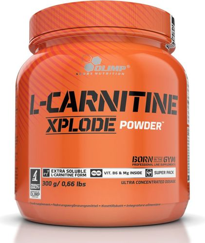 OLIMP L-Carnitine Xplode Powder 300g pomarańcza Olimp pomarańczowy roz. uniw