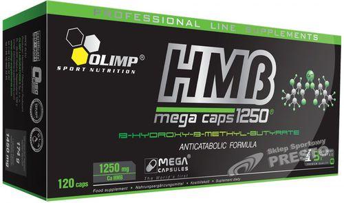 OLIMP HMB MegaCaps 120 Blister 1250 mg Olimp 021480  roz. uniw (021480)