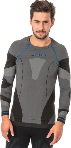 Freenord Koszulka męska DryTech Basic Black/Blue r. S