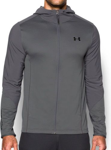 Under Armour Bluza męska Grid Fitted Hoodie Graphite r. XL (1282240-040)