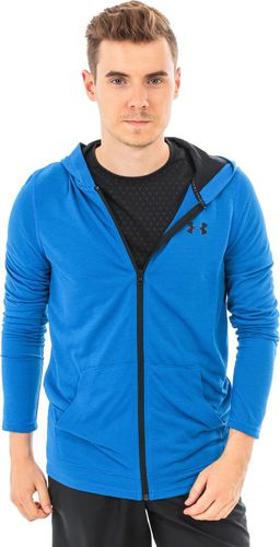 Under Armour Bluza męska Threadborne Fitted Full Zip niebieska r. XL (1290301)