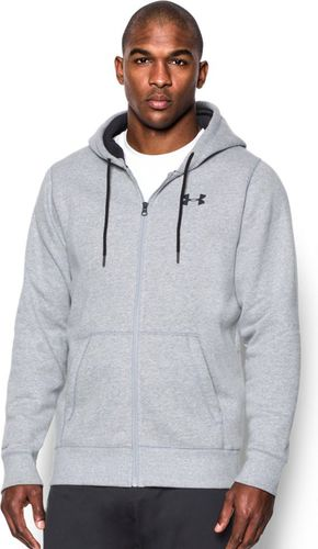 Under Armour Bluza męska Storm Rival Fleece Zip Hoodie  True Gray Heather r. L (1280781-025)