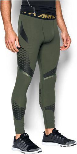 Under Armour Spodnie męskie Zone Compression Leggings Downtown Green r. XL (1257474907)