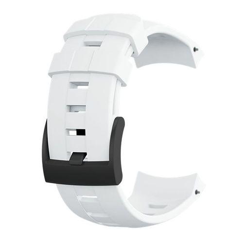 Suunto Pasek do zegarka Ambit3 Vertical Silicone Strap Suunto White roz. uniw (SS022005000)