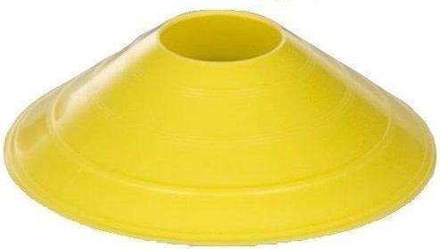 Interplastic Pachołek treningowy 6cm Interplastic żółty roz. uniw (16 001 0024)