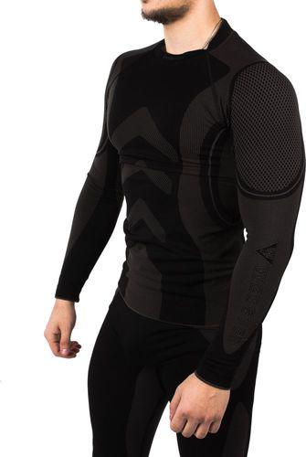 Webster Function Koszulka termoaktywna unisex LS11200 czarno-szara  r. M