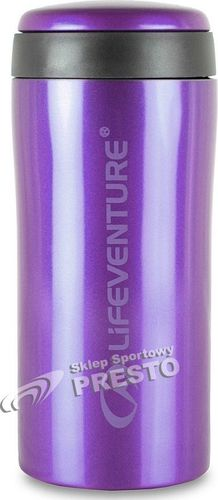 Lifeventure Kubek termosowy Thermal Mug 330ml Lifeventure fioletowy roz. uniw (LV-9530D)