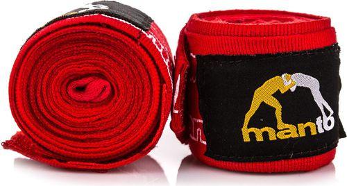 Manto Bandaż bokserski Combo 4m Manto czerwony roz. uniw