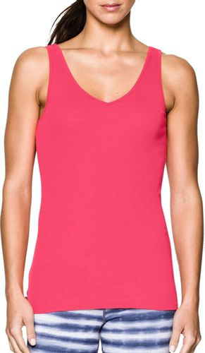Under Armour Koszulka damska Double Threat Tank Under Armour Pink Shock r. S (1253915683)