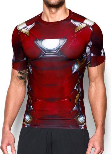 Under Armour Koszulka męska Alter Ego Transform Yourself Under Armour Ironman - Cardinal roz. S (1273694625)