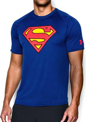 Under Armour Koszulka męska Transform Yourself Core Superman niebieska r. XL (1249871-400)