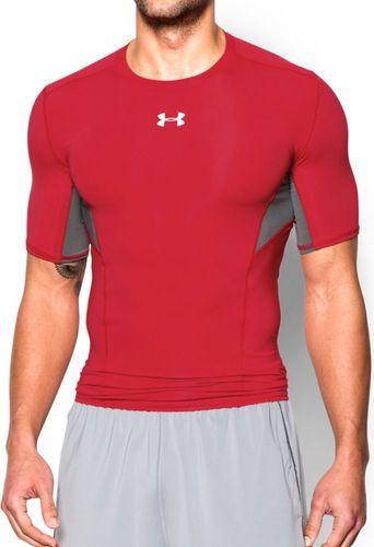 Under Armour Koszulka męska CoolSwitch Short Sleeve czerwono-szara r. S (1271334600)