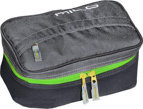 Milo Kosmetyczka turystyczna Luxe Milo szaro-zielony roz. uniw