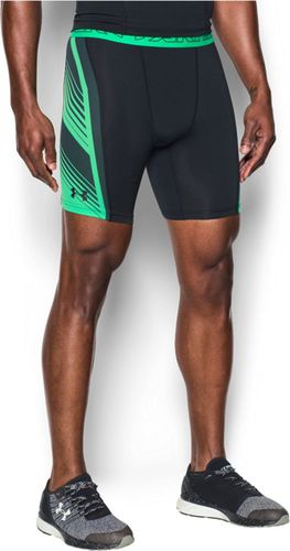 Under Armour Spodenki męskie Supervent Black/Green r. XL (1289573002)