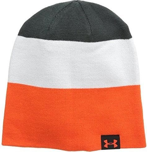 Under Armour czapka 4in1 Stripe Beanie Anthracite (1248723016)