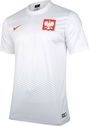 Nike Koszulka dziecięca Poland Supporters Nike biała r. M (846807100)