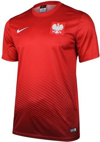 Nike Koszulka dziecięca Poland Supporters Nike czerwona r. M (846807611)