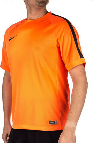 Nike Koszulka męska Squad Flash Training Top pomarańczowa r. XL (619202853)