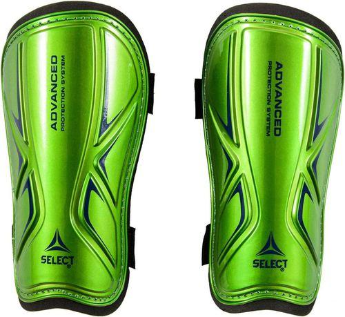 Select Ochraniacze piłkarskie Shin Guards Standard zielone r. S