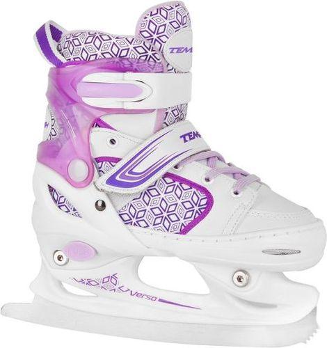 Tempish Łyżwy dziecięce regulowane Verso Ice Girl Tempish biało-fioletowy roz. 26-29 (1300000835)