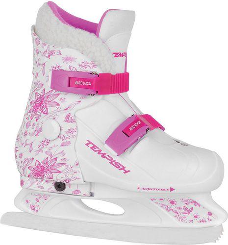 TEMPISH Łyżwy regulowane Fur Expanze Tempish biało-różowy roz. S (130000216)