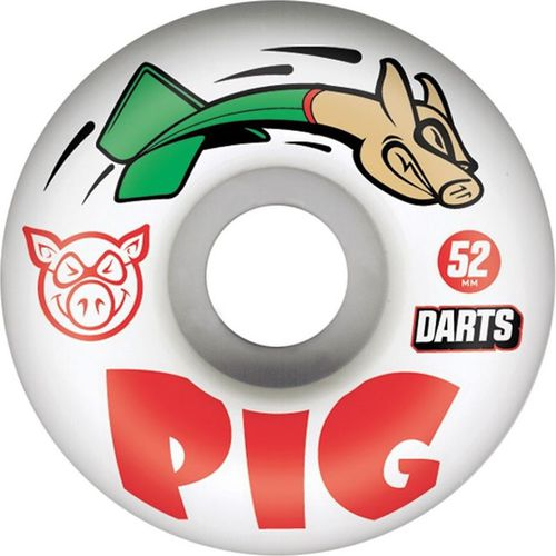 Pig Kółka do deskorolki Darts 52mm Pig Wheels  roz. uniw (WHLPG16352)