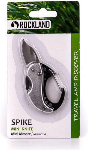 Rockland Nożyk kieszonkowy brelok Spike Rockland srebrny roz. uniw