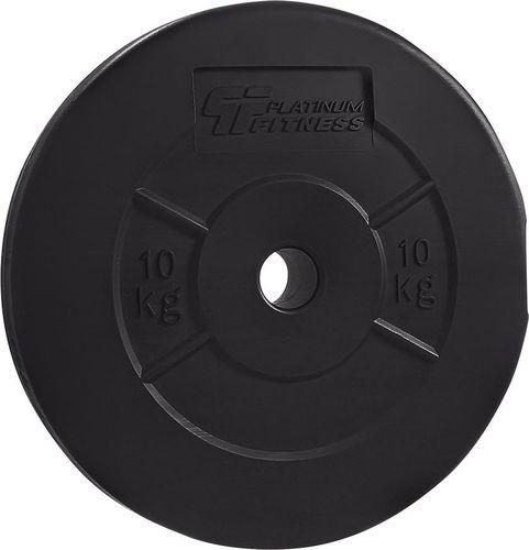 Platinum Fitness Obciążenie bitumiczne 29mm 10kg Platinum Fitness  roz. 10 kg (P0012)