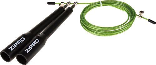 Zipro Skakanka Crossfit 3m Zipro czarno-zielony