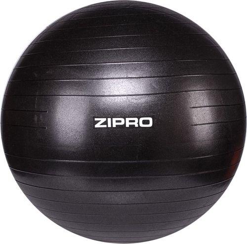 Zipro Piłka gimnastyczna z pompką Gym Ball Anti-Burst 65cm czarny