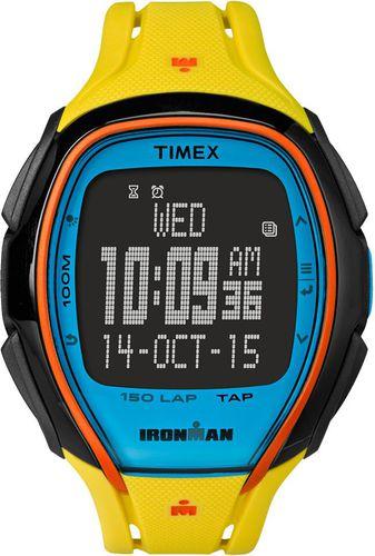 Timex Zegarek sportowy Ironman Sleek 150 TAPScreen TW5M00800 Timex multikolor roz. uniw (TW5M00800)