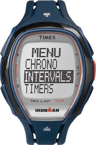 Timex Zegarek sportowy Ironman Sleek 150 TAPScreen TW5K96500 Timex multikolor roz. uniw (TW5K96500)