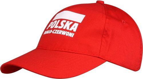 Sportech Czapka z daszkiem kibica Polska Biało-Czerwoni czerwony roz. uniw (S337921)