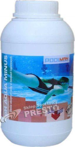 Poolman Preparat obniżający pH wody pH Aqua Minus Poolman  roz. uniw (004111)