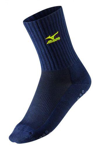 Mizuno Skarpetki Volley Socks Medium Mizuno Navy/Yellow roz. 38-40 (67XUU71584)
