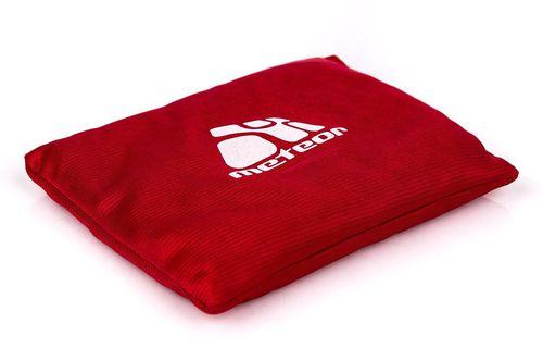 Meteor Woreczek gimnastyczny 13x10cm Meteor czerwony roz. uniw